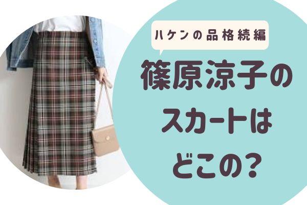篠原涼子(大前春子)着用のスカートはどこの?ブランドは?