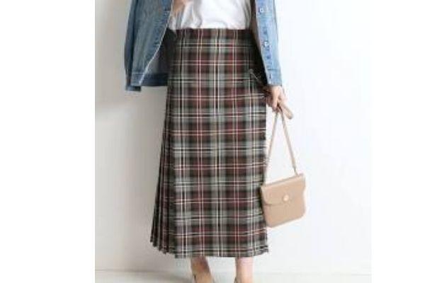 SLOBE IENA(スローブ イエナ)のプリーツスカート